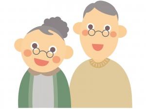 メガネの夫婦