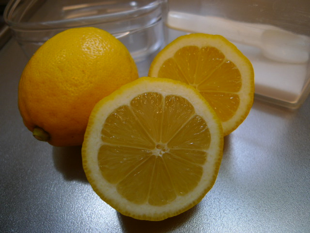 塩レモン材料