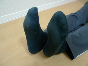骨盤体操畳歩き