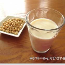 豆乳と納豆
