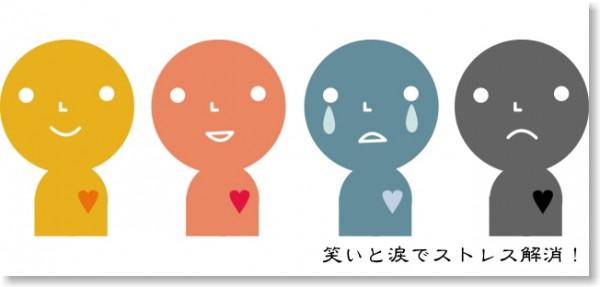 笑顔泣き顔