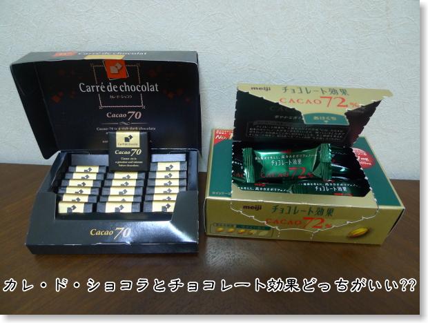 カレドショコラとチョコレート効果