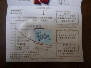 乳酸菌ショコラデータ
